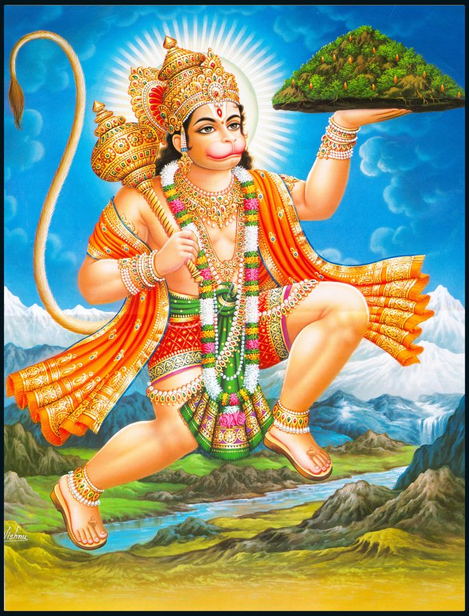 How to worship lord hanuman