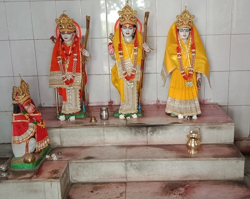 Hindu deities-lord ram and seetha