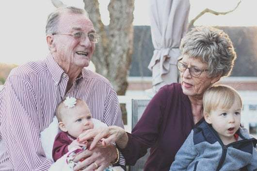 importance of family - grand parents